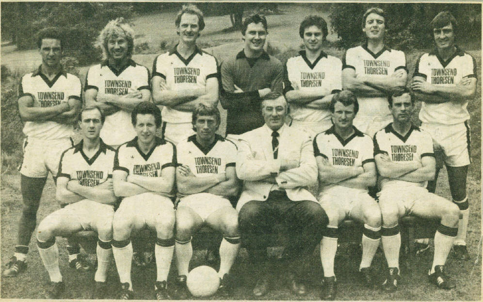 The 1981 82 team in august for Buro team 82
